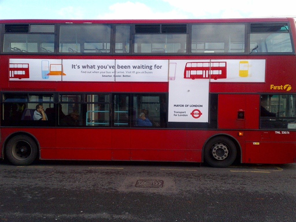 Image from http londoncalling co images tfl bus ad jpg advertising pinterest