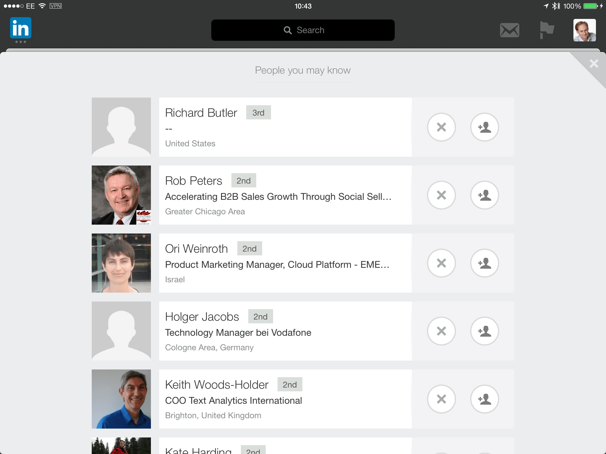 Why LinkedIn needs to allow invitation personalisation on their iPad app