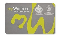 my-waitrose-card